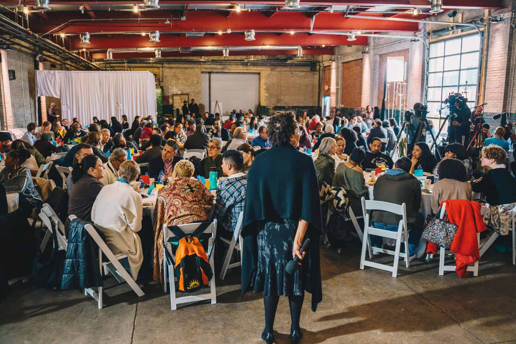 <p>A Better Arguments event in Detroit, with five guest speakers and 250 attendees, discussing the new challenges the evolving city is facing.</p>